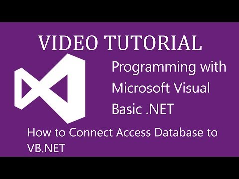 How to connect database to visual studio 2015 - VB.net