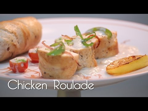 Chicken Roulade In Soubise Sauce - MySpoon