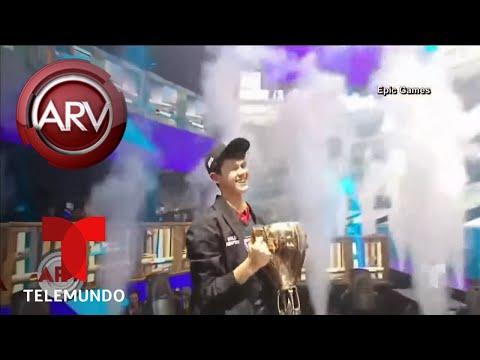Xxx Mp4 Adolescente Gana Millones De Dólares Por Ganar El Mundial De Quot Fornite Quot Al Rojo Vivo Telemundo 3gp Sex