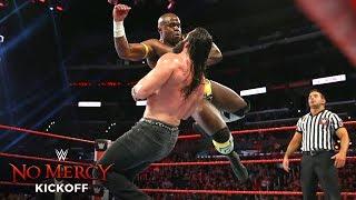 Apollo Crews displays incredible athleticism against Elias: WWE No Mercy 2017 Kickoff Match