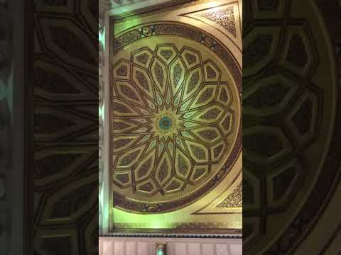 Roof closure in Madinah Mosque