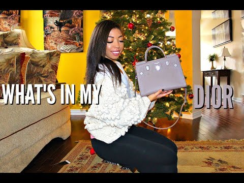 WHAT'S IN MY BAG - DIOR DIOREVER + REVIEW - Worth it or not? | VLOGMAS DAY 11