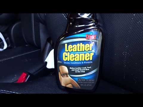 Stoner Car Care Leather Cleaner Review on a 2017 Toyota Sienna SE