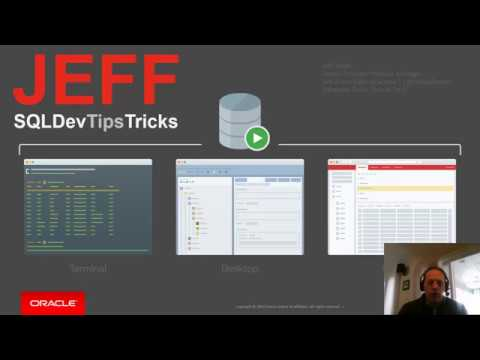 Oracle SQL Developer 101: A Desktop Tour