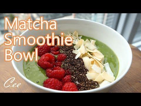 Matcha Smoothie Bowl | Vegan Friendly