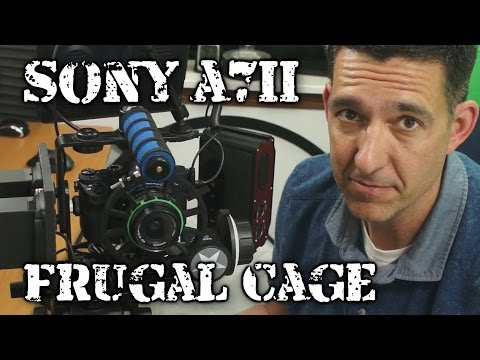 Sony A7II inside the Frugal Cage