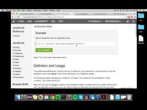 Navigating the DOM (JavaScript)