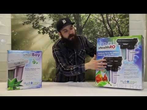 Water Purification System Review - Small Boy Water Filter System vs Stealth RO100 & 200 RO System