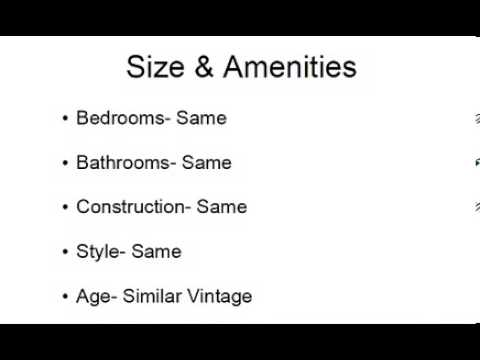 Understanding Comparables - Comps for Real Estate - Cameron Dunlap