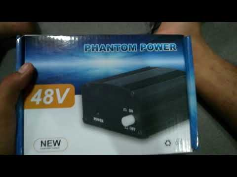[รีวิว] Phantom Power 48V จาก Lazada. (ของครบ)