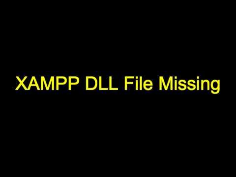 Xampp runtime dll missing