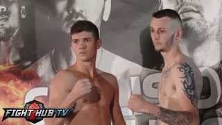 Olympic Gold Medalist Luke Campbell Vs Craig Woodruff Weigh In And Fa