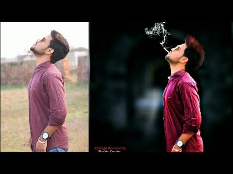 Picsart Tutorial | Smoker Boy | Hair color Changing | Picsart Photo manipulation tutorial |