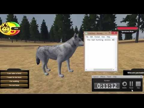 WolfQuest-Secret Den(with white pup),Zombie pup,and how to get a mate