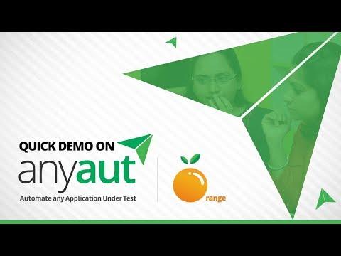 Quick Demo on AnyAUT Orange  -   iTeLearn