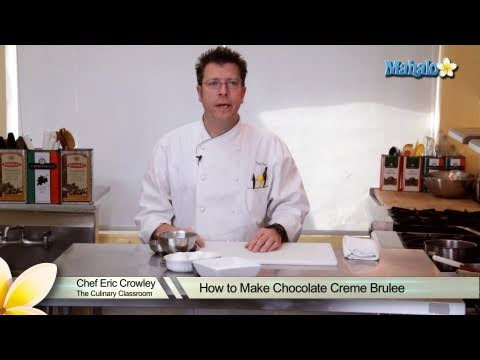 How to Make Chocolate Creme Brulee