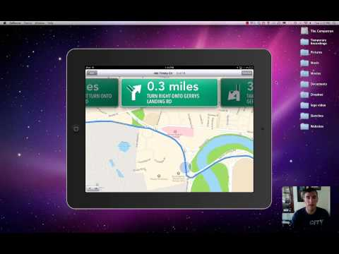 An Intro To Apple Maps, iTunes, and the iPad Camera