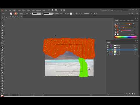 Using Adobe Illustrator to convert images to SVG for VideoScribe