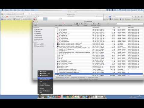 Installing audacity on a mac