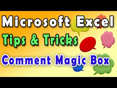 Excel tips and trick || excel tutorials || how to learn microsoft excel || - Comment trick || Hindi