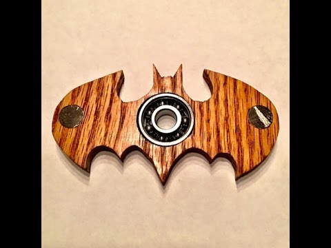 How To Make A Fidget Spinner Out Of Wood For $3!