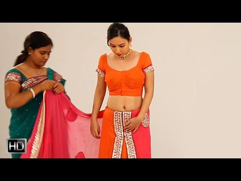 How To Drape A Saree Perfectly In 2 Mins To Look Slim & Tall - Butterfly Style Of Wearing Sari