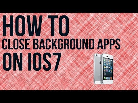 How To Close Background Applications In iOS7 - iOS7 Tutorial