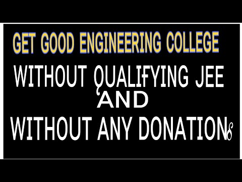 Engineering college admissions without jee qualified and without donation |ᴏғғɪᴄɪᴀʟ