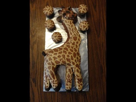 How To Make A Fun Giraffe Birthday Cake