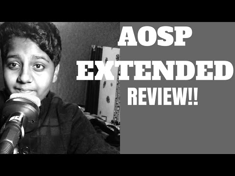 Aosp Extended REVIEW(Volte,Theme engine,Bugs)!!!
