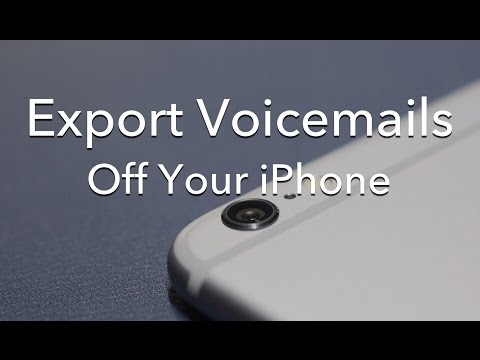 Export Voicemail Messages from an iPhone [HOW TO]