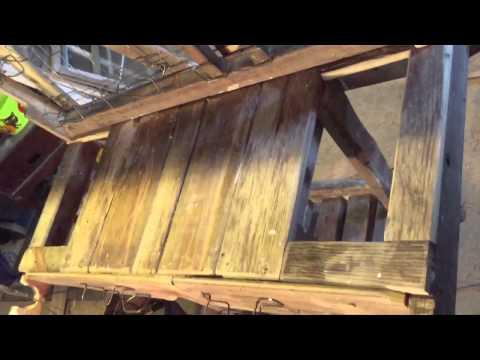 Season 1, Episode 4: funky rustic potting table
