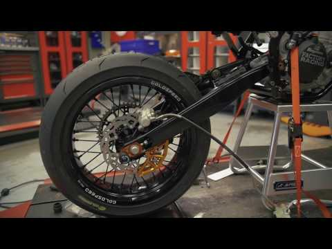 PUTTING THE EXC500 BACK TOGETHER! - KTM SUPERMOTO BUILD EP 9