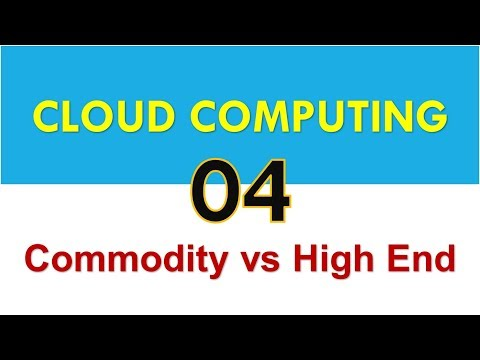 04 Commodity Computers vs High End Servers