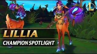 LILLIA CHAMPION SPOTLIGHT - League of Legends