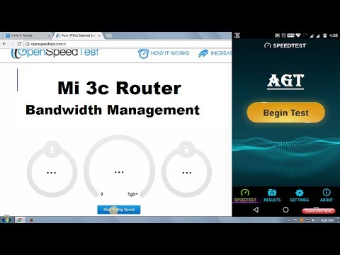 Mi Router 3c Set Speed Limit for Any User (QoS Allocation / Bandwidth Management)