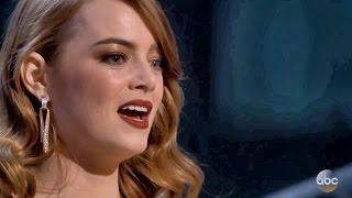 Best Actress Emma Stone Oscar Winner 2017 Speech