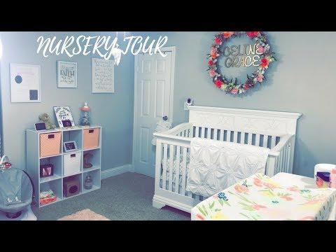 BABY GIRL NURSERY TOUR | FLORAL THEME | VIVECA FRIAS