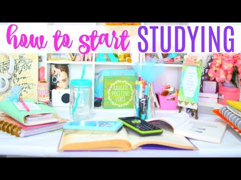 HOW TO START STUDYING & Set up your space | Paris & Roxy