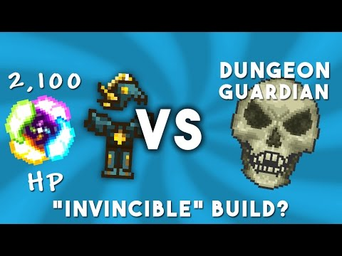 Terraria Mods - 2,100 Health vs. Dungeon Guardian