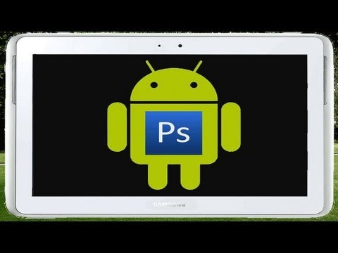 How to install photoshop onto your tablet for free (no root)