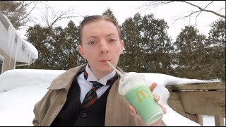 The COLDEST McDonald's Shamrock Shake I'll Ever Review!