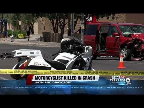 Motorcycle rider dies in crash near 29th and Craycroft