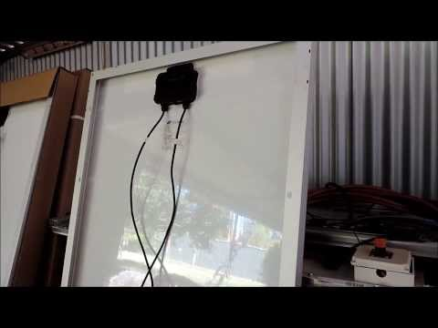 Lets look at solar panels and testing your Diodes