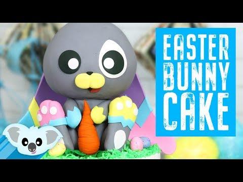 Easter Bunny Cake| Koalipops How To | Spring Cake Ideas