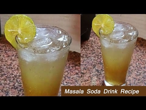 Masala Soda Recipe/ Refreshing & Digestive & Authentic & Soft Drink for everyone just in 1 minute