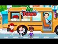 Download Video Download Daddy Take His Child To School - My Town Games 3GP MP4 FLV