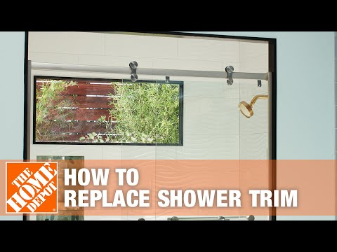 How To Replace Shower Trim