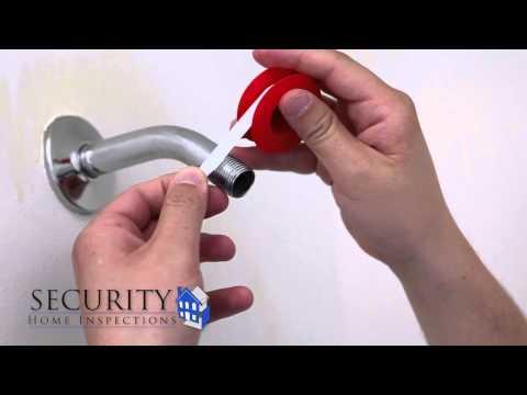 Hand Held Shower Head Installation