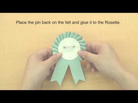 CLOVER 8430 8431 Rosette Maker How to use 3 20170707